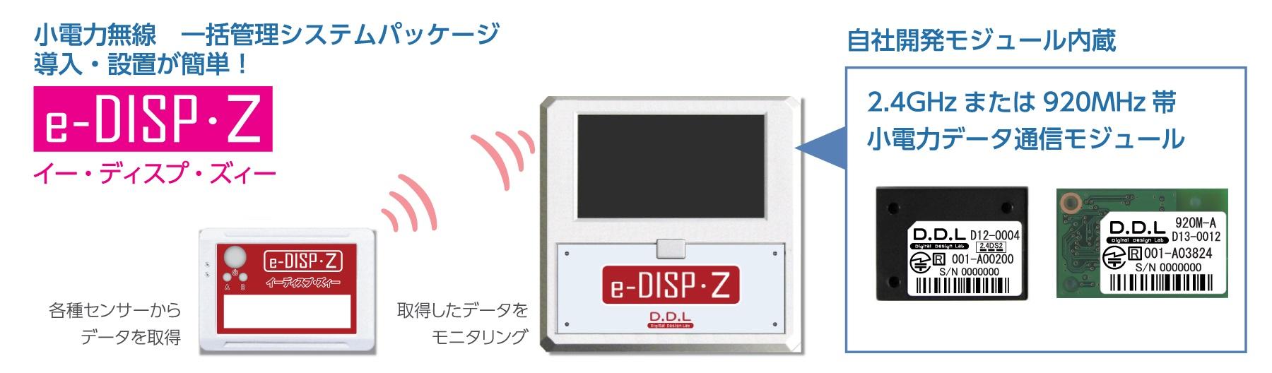 e-DISP・Zの図解説明