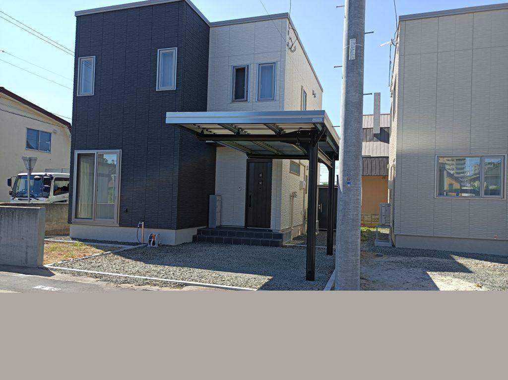 札幌市北区 I様邸(片持1台用、塗装品)