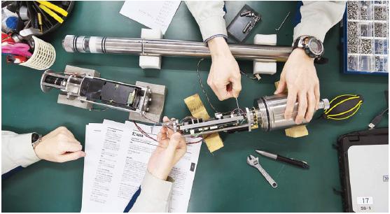調査機器の設計・開発・製造を行う地質調査会社